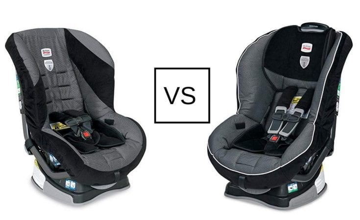 The Main Differences Between The Britax Roundabout Vs. Britax Marathon Car Seat