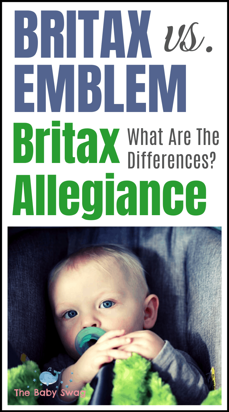 Britax Emblem vs Britax Allegiance - What Are The Differences?