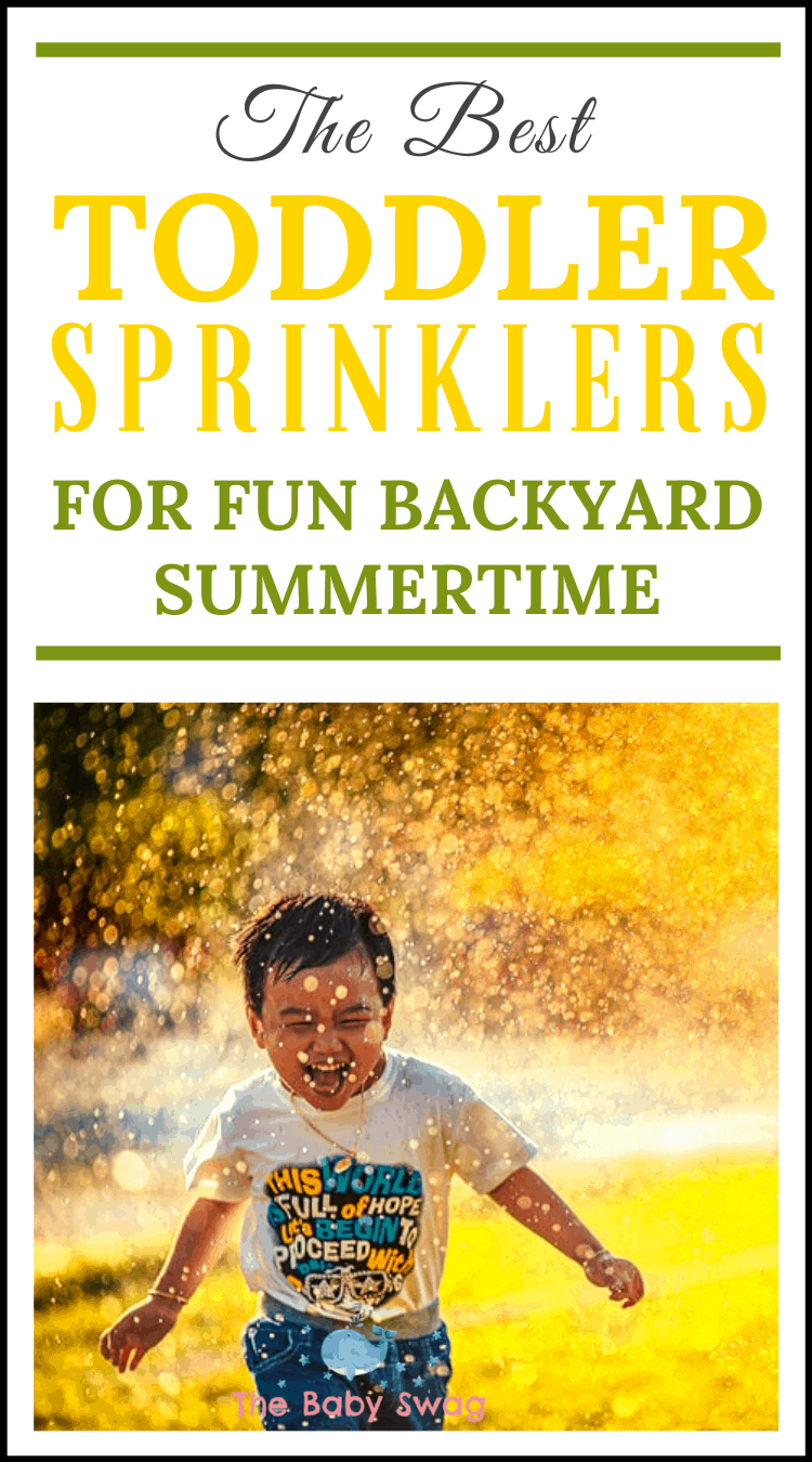 The Best Toddler Sprinklers for Fun Backyard Summer Time