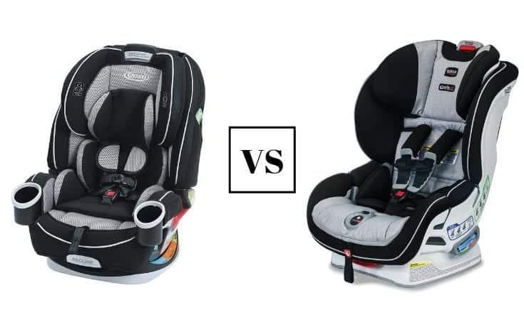 Graco 4Ever 4-in-1 Convertible Seat vs. Britax Boulevard ClickTight Convertible Seat