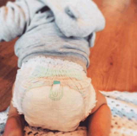baby in diaper 1