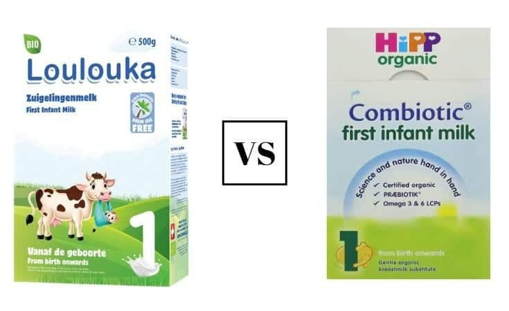 Loulouka Vs Hipp Formula 2020 Which Baby Formula Is The Better Pick The Baby Swag