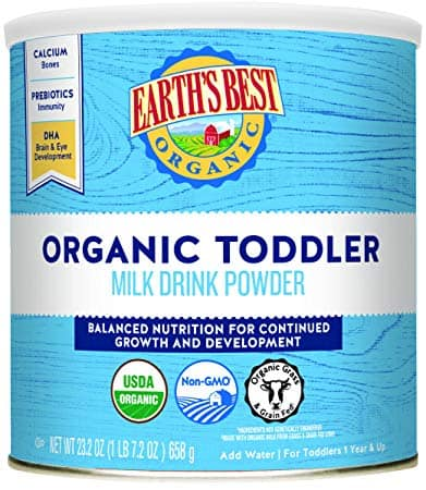 Earth's Best Organic Toddler Milk Drink Powder