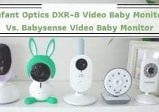 Infant Optics DXR-8 Video Baby Monitor Vs. Babysense Video Baby Monitor
