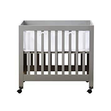 grey crib