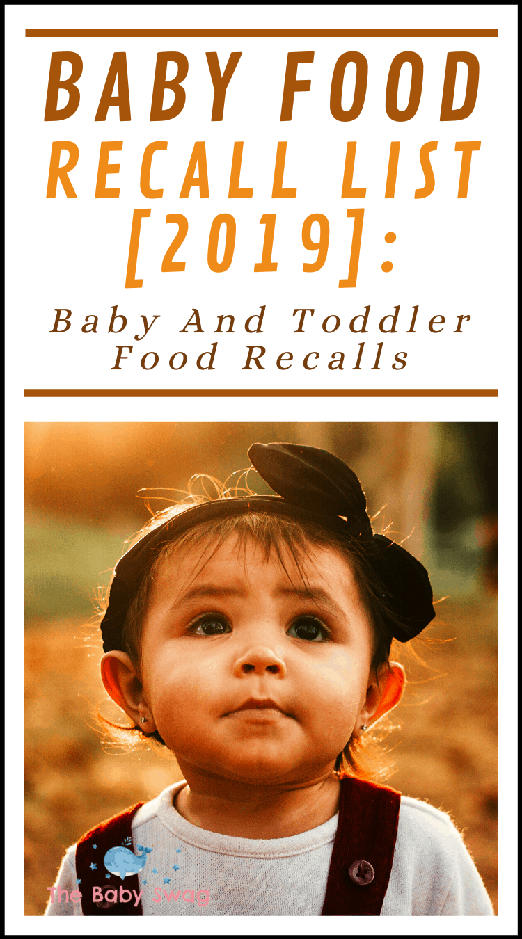 Baby Food Recall List [2019]: Baby and Toddler Food Recalls