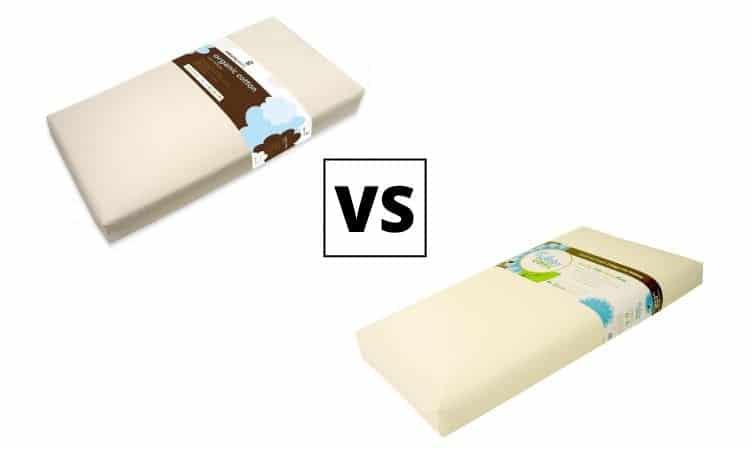 Naturepedic vs Lullaby Earth Crib Mattress