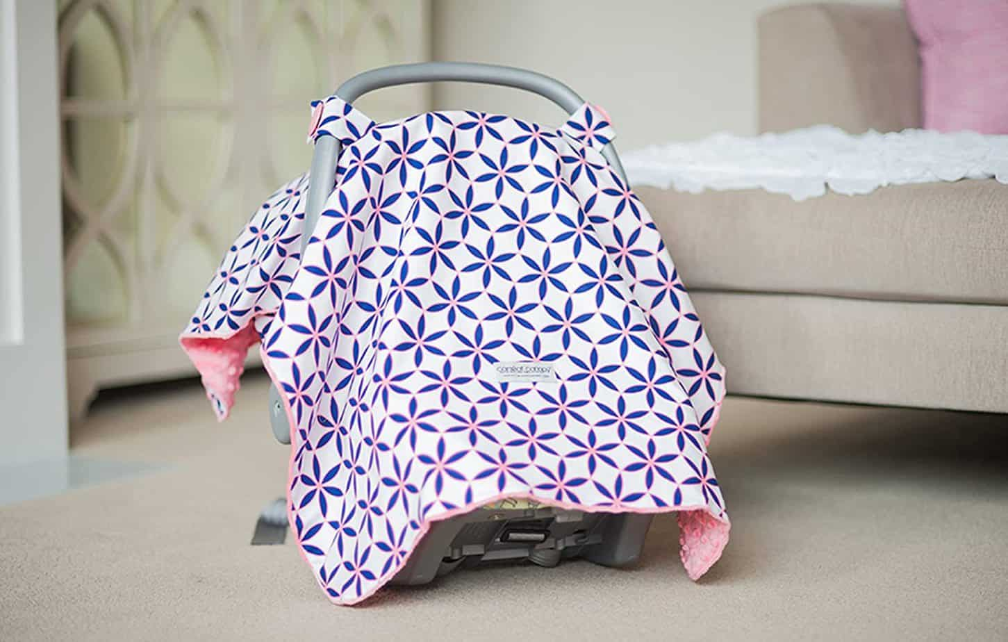 Carseat Canopy pink