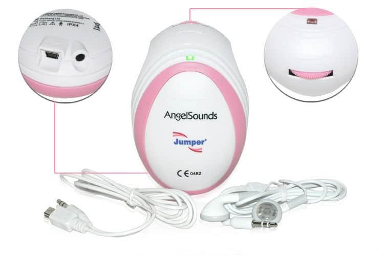 AngelSounds Fetal Heartbeat Doppler