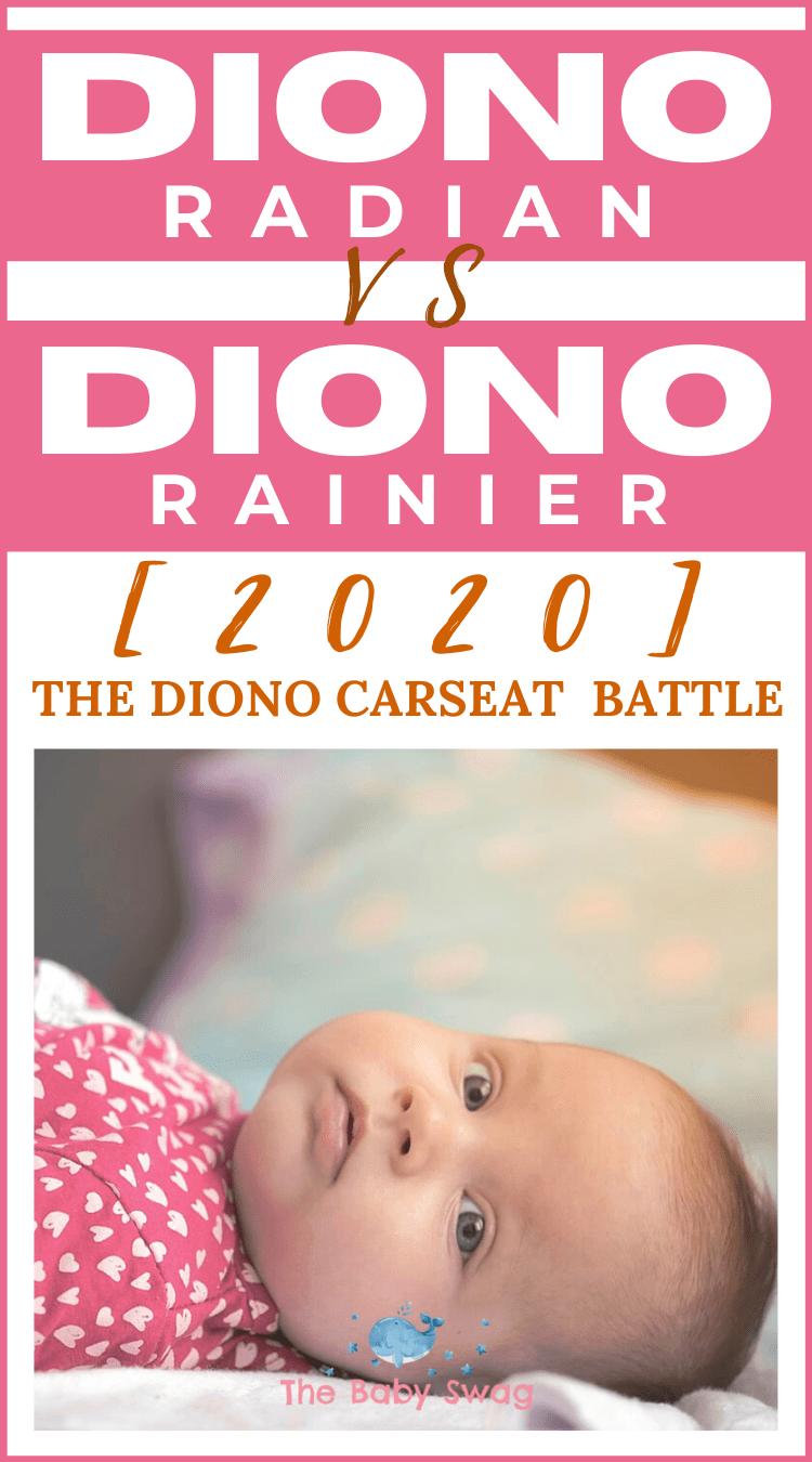 Diono Radian vs Diono Rainier [2020] | The Diono Car Seat Battle!
