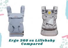 Ergo 360 vs Lillebaby Compared