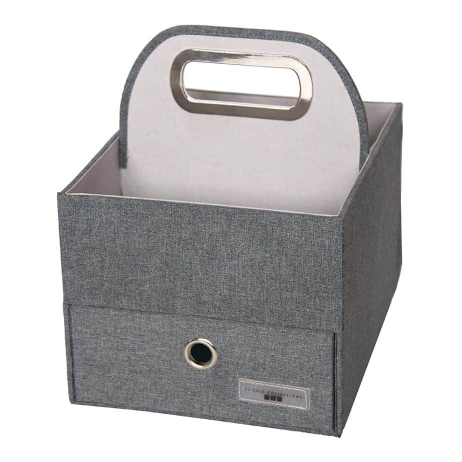 JJ Cole Heather Diaper and Wipes Caddy