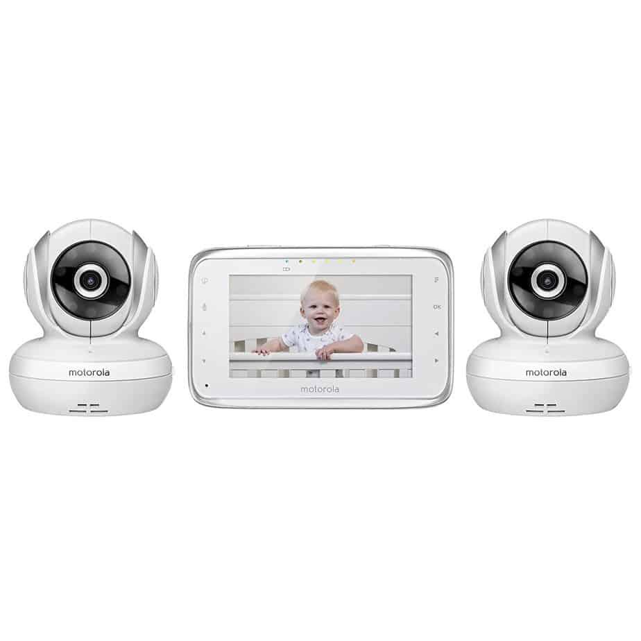 Motorola MBP38S-2 Digital Video Baby Monitor with 2 Cameras