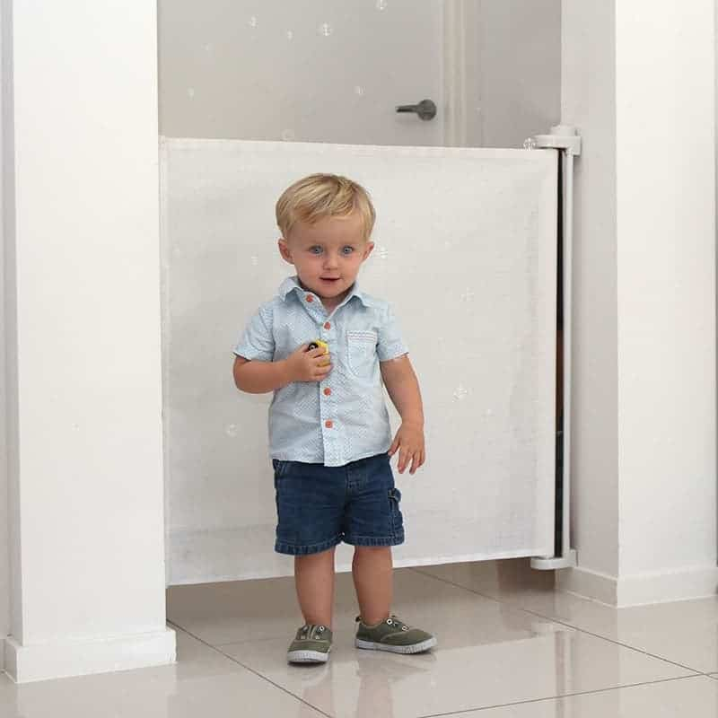 Image result for Perma Retractable Baby Gate