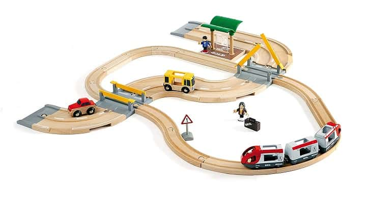 BRIO Rail and Road Travel Set Train