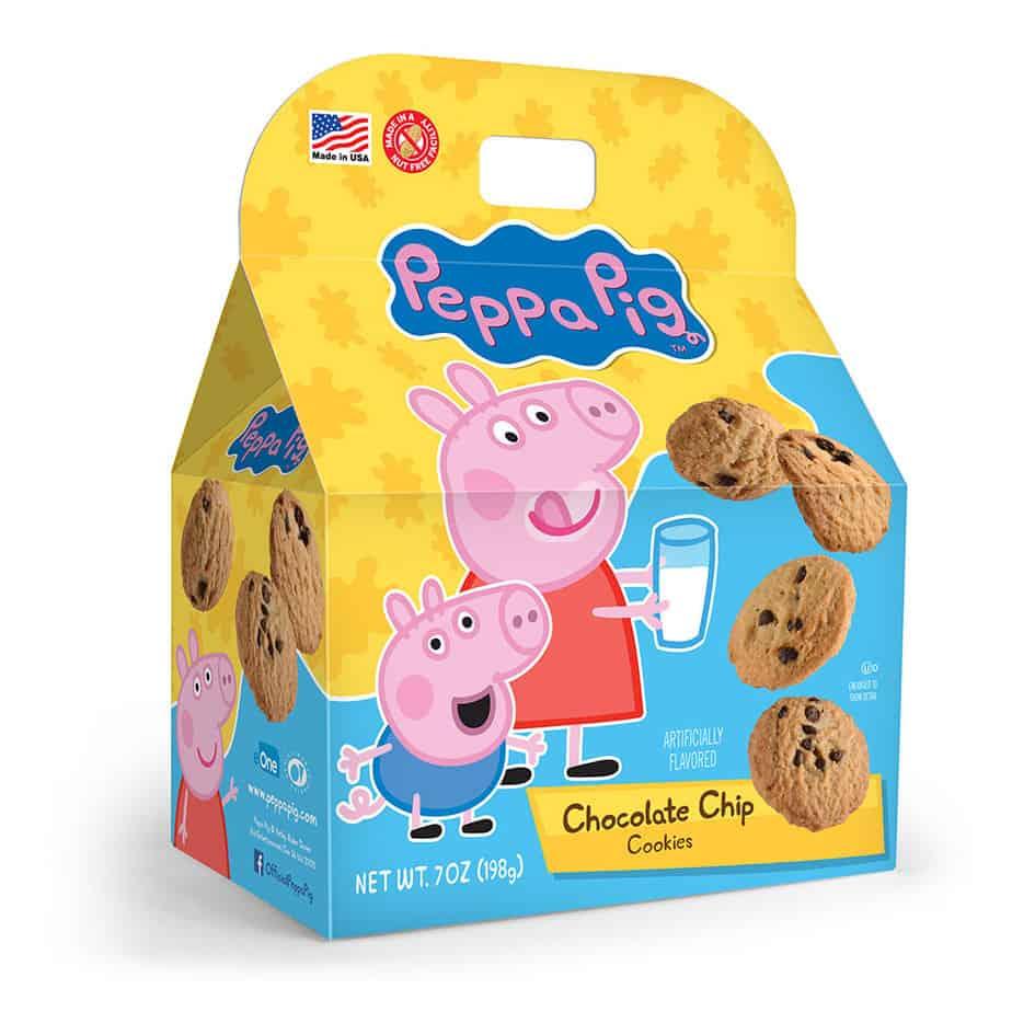 Peppa Pig Chocolate Chip Cookies Gable Box