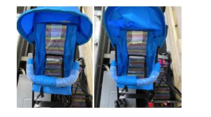 island wear stroller