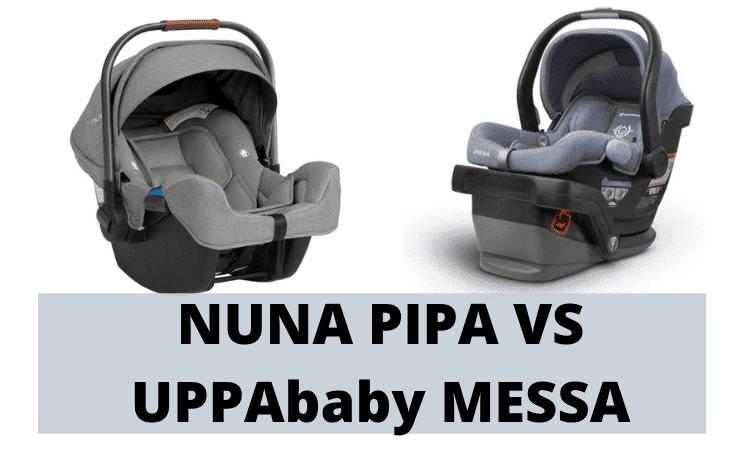 nuna pipa vs uppababy messa