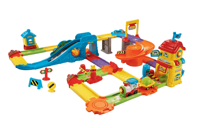 vtech go smart wheels train station playset