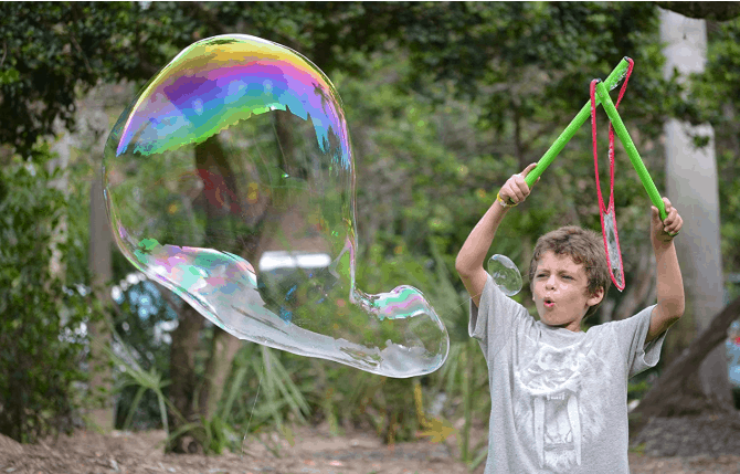 wowmazing giant bubble