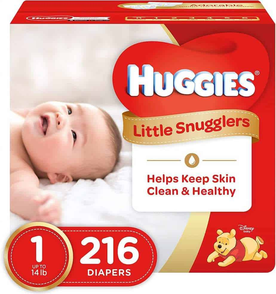 OUR TOP CHOICE: Huggies Little Snugglers