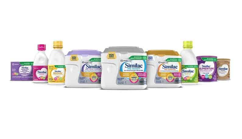 similac formulas