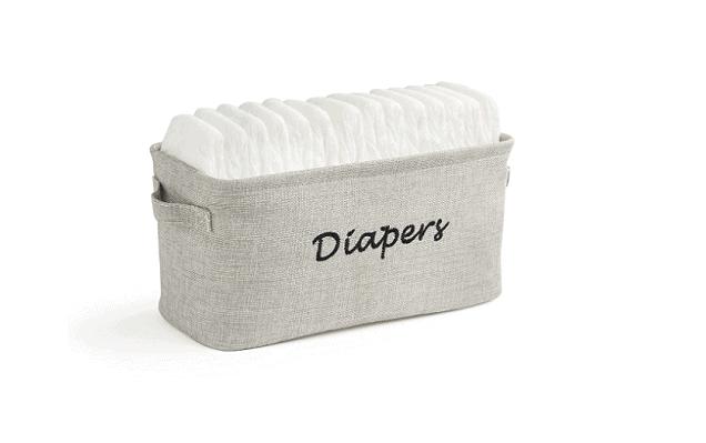 diapers storage bin