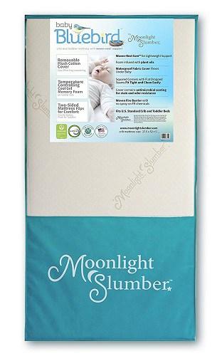 moonlight slumber baby bluebird mattress