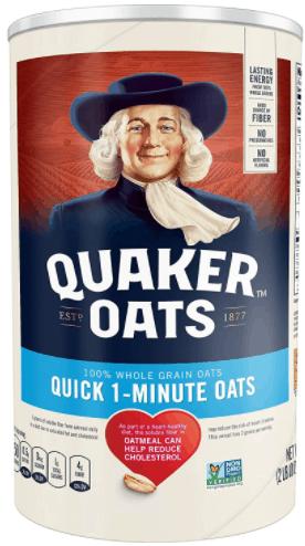 Quick 1 Minute Whole Grain Oats