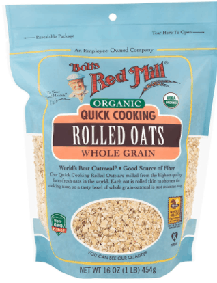 bob's read mill organic quick cooking rolled oats