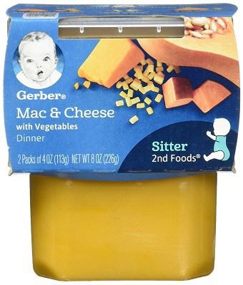 gerber mac and cheese