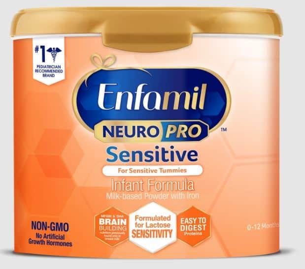 Enfamil NeuroPro Sensitive Infant Formula   Enfamil