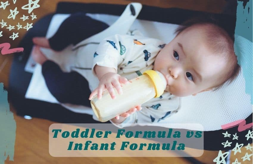 Toddler Formula vs Infant Formula