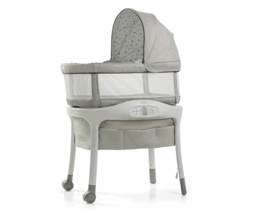 Graco Sense2Snooze Bassinet with Cry Detection Technology | Amazon