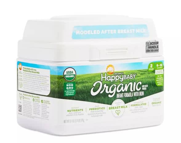 Happy Baby Organic Infant Formula | ThriveMarket