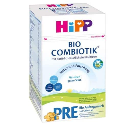 Hipp Organic Combiotic First Infant Formula | OrganicBabyShop