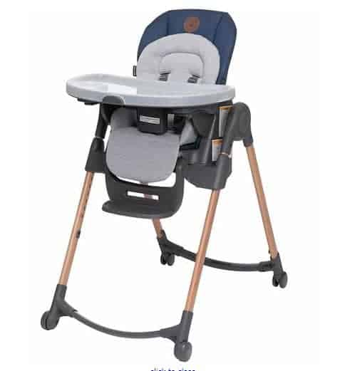 Maxi Cosi Minla Adjustable Highchair   PishPoshBaby