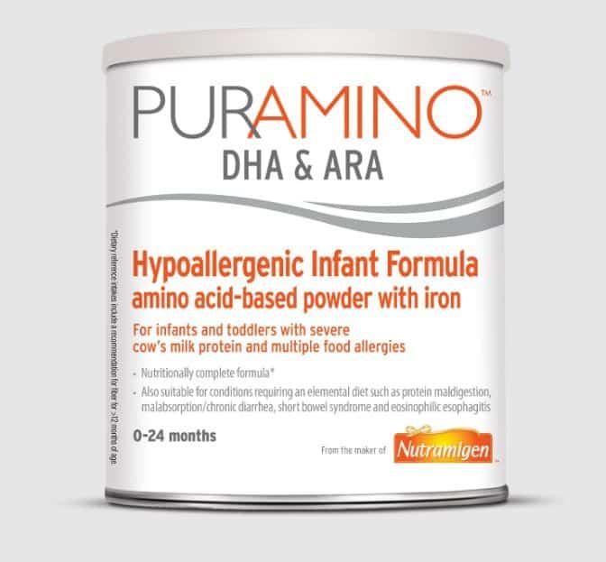 Puramino Hypoallergenic Baby Formula | Enfamil