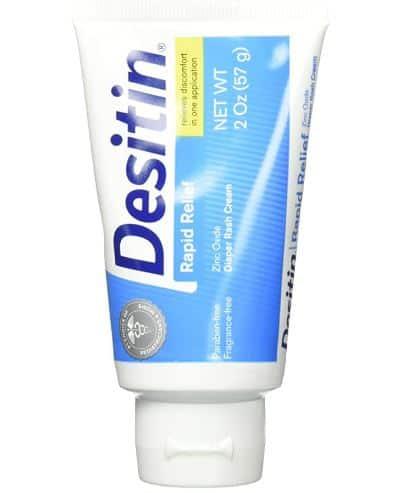 Desitin Rapid Relief Diaper Rash Cream | Amazon