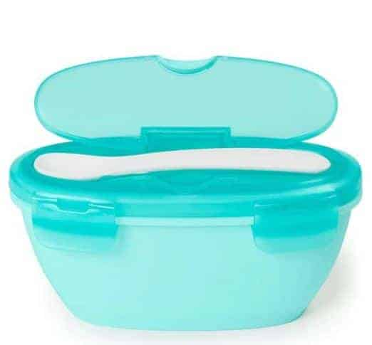 Easy Serve Travel Bowl and Spoon Set | BabyCubby