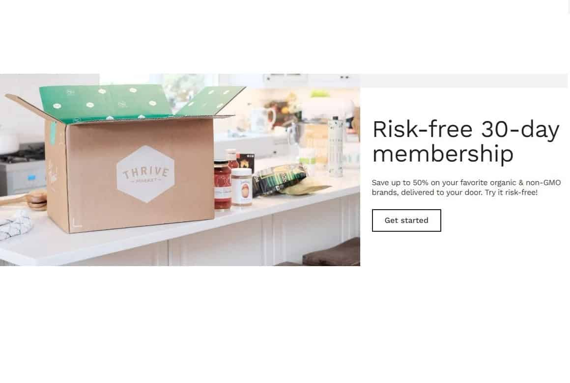 Try Thrive Market for Organic Formula