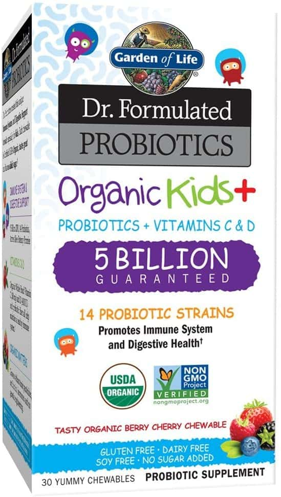 Garden of Life Dr. Formulated Probiotics Organic Kids+