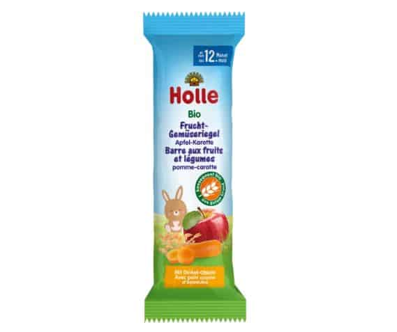 Holle Organic Apple and Carrot Fruit Bar   Organic Baby Shop
